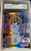 Hot 2020 Panini Prizm Silver James Wiseman ROOKIE Card Gem MINT 10 Warriors SP