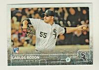 2015 Topps Update #US324 CARLOS RODON RC Rookie Chicago White Sox