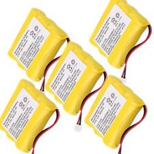 5X Cordless Phone Battery for Sanik 3SN-AA60-S-J1 3SNAA60SJ1 Vtech MG2423