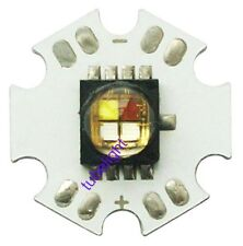 10pcs Cree XLamp MC-E RGBW RGB+White LED Emitter Mounted on 20mm Star PCB Board