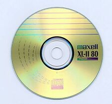 Pacco da 10 MAXELL XL-II 80 MARCA Digital Audio 80min CD-R in Maniche