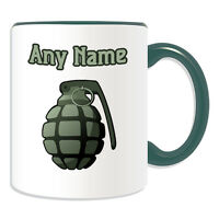Personalised Gift Warhorse Mug Mug Money Box Cup Battle Weapon War Army Boy Tea