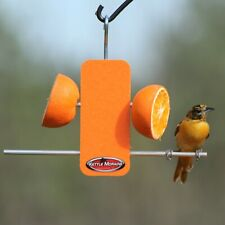 Kettle Moraine Recycled Plastic Single Oriole Orange Fruit Stick Feeder #8337