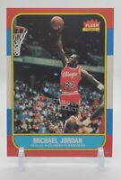 1986 Fleer Michael Jordan Rookie Card! #57  Chicago Bulls!