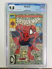 Spider-Man #1 CGC 9.8 Green Marvel Comics Todd McFarlane Lizard appearance 8/90