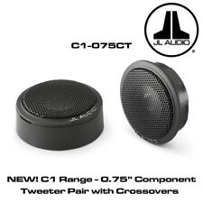 """JL Audio C1-075CT - C1 0.75"""" Component Tweeter Pair with Crossovers 150W"""