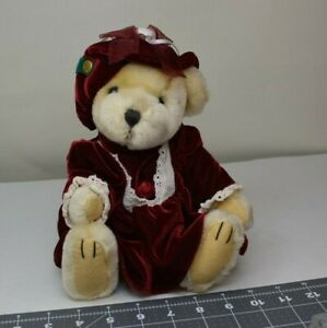 Pickford Bears Pearl Bear of Wealth Brass Button Collectibles Plush 1997 Vintage