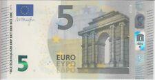 European Union Banknote P20v 5 Euro 2013 Prefix VA, Plate V003B5, UNC