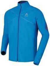 ODLO windabweisende Jacke für Herren Windstopper blau gr L NEU