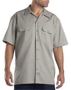 Dickies Mens Short Sleeve Button Up Casual Work Shirt 1574