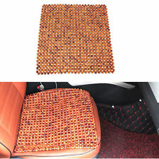 African Rosewood Bead Massages Car Taxi Home Chair Seat Cover Beaded Cushion New