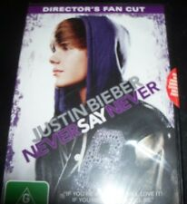Justin Bieber Never Say Never Director's Fan Cut (Australia Region 4) DVD New