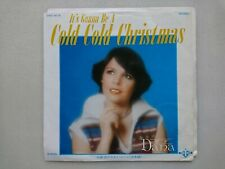 """DANA It's Gonna Be A Cold Cold Christmas JAPAN 7"""" Sings in Japanese DWQ-6018"""
