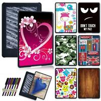 Colorful Pattern Shell Case Cover For All-New Amazon Kindle 10th Generation 2019