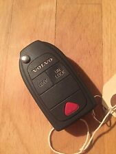 Utilisé volvo S40/V40 flip remote key fob-genuine part