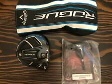 Callaway Rogue Sub Zero Driver Head (9*) with original Headcover and Tool. MINT