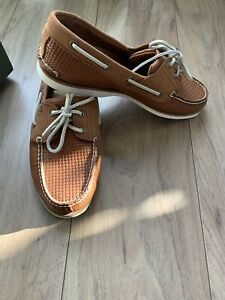 BNWB Timberland Classic Weave Boat Shoes in size 11 rrp £130.00.