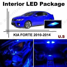 Blue LED Lights Interior Package Kit for Kia Forte 2010-2012 ( 7 Pieces )