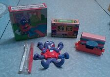 Vintage avon outraged octopus toothbrush holder and soap coach.