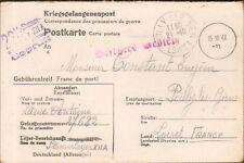 45 POILLY GUERRE 39/45 COURRIER PRISONNIER STALAG KRIEGSGEFANGENENPOST 1941