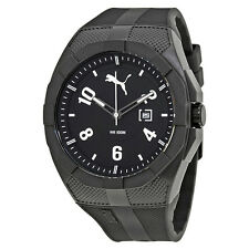 Puma Iconic  Sports Black Dial Mens Watch PU103501009U