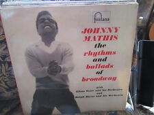 """Johnny Mathis, """"The Rhythms and Ballads of Broadway"""" (Vinyl double album 682081)"""