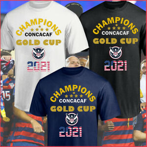 NEW!! USA Champions CONCACAF Gold Cup 2021 T-Shirt