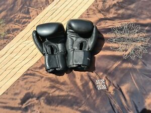 Black Windy Boxing Gloves 12 Oz