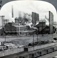 Keystone Stereoview of the Steel Mills at Birmingham, AL From RARE 1200 Card Set