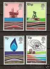 GREAT BRITAIN # 827-830 MNH WEALTH OF ENERGY COAL GAS