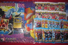 LOT CHAMPION FRANCAIS POKEMON 2013 36 BOOSTER + PLAYMAT + CARTES EXCLUSIVES NEUF