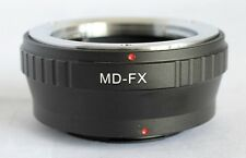 Minolta MD MC Mount Lens to Fujifilm X-Pro1 Lens Mount Adapter FX Mount MD-FX