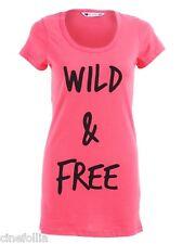 T-SHIRT ATTICUS WILD AND FREE maglia Donna originale fashion style