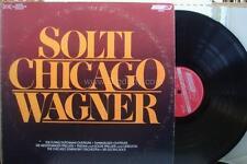Sir Georg Solti SOLTI: CHICAGO / WAGNER - CS7078 Vinyl LP    VG+ / VG+