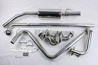 PACK complet Echappement Inox Super 5 GT Turbo Collecteur + Downpipe + Ligne