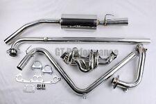 PACK complet Echappement Inox Super 5 GT Turbo Collecteur + Downpipe + Ligne