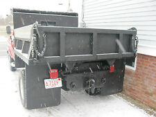 8' Dump Truck Body Bed Steel Hydraulic Hoist Cab Protector  No Rust Fresh Paint
