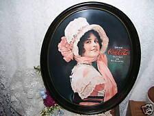 Victorian Miss Coca Cola Tray