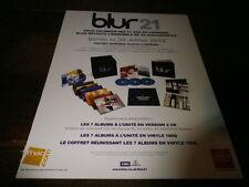 BLUR - Publicité de magazine / Advert !!! 21 - COFFRET !!!