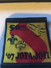 Girl Guides / Scouts JOTA/JOTI 2007 50th