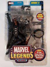 Marvel Legends Blade Series V 5 Wesley Snipes Vampire Hunter Unopened Toy Biz