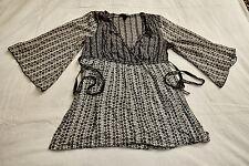 Bluse,H&M,Gr. 38,mehrfarbig,Mischgewebe: Body 100% Baumwolle