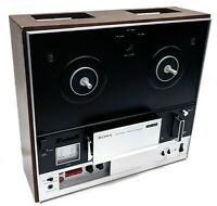 """Vintage Sony TC-355 Stereo 7"""" Three Head Reel-To-Reel Tapecorder Player - AS-IS"""