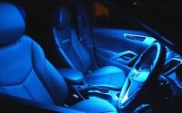 Icy Blue LED Interior Light Conversion Package for Toyota Camry XV40 2006-2011