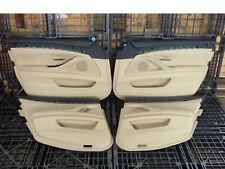 BMW 5er Touring F11 Türverkleidung Türverkleidungen Leder beige Set