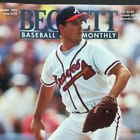 GREG MADDUX Atlanta Braves, Beckett Baseball Card Monthly Dec 1995