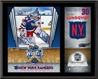 Henrik Lundqvist Rangers 12x15 Winter Classic Sublimated Plaque w/Ice - Fanatics