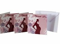 Baby Shower Party  -  THANK YOU CARDS -  20 Cards & Envelopes   -   FREE POSTAGE