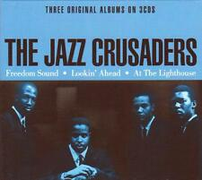 THE JAZZ CRUSADERS - Freedom Sound, Lookin' Ahead, At The Lighthouse (NEW 3CD)