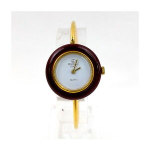 Gucci Watch  change bezel operates normally Women's Whites X Gold 2406976